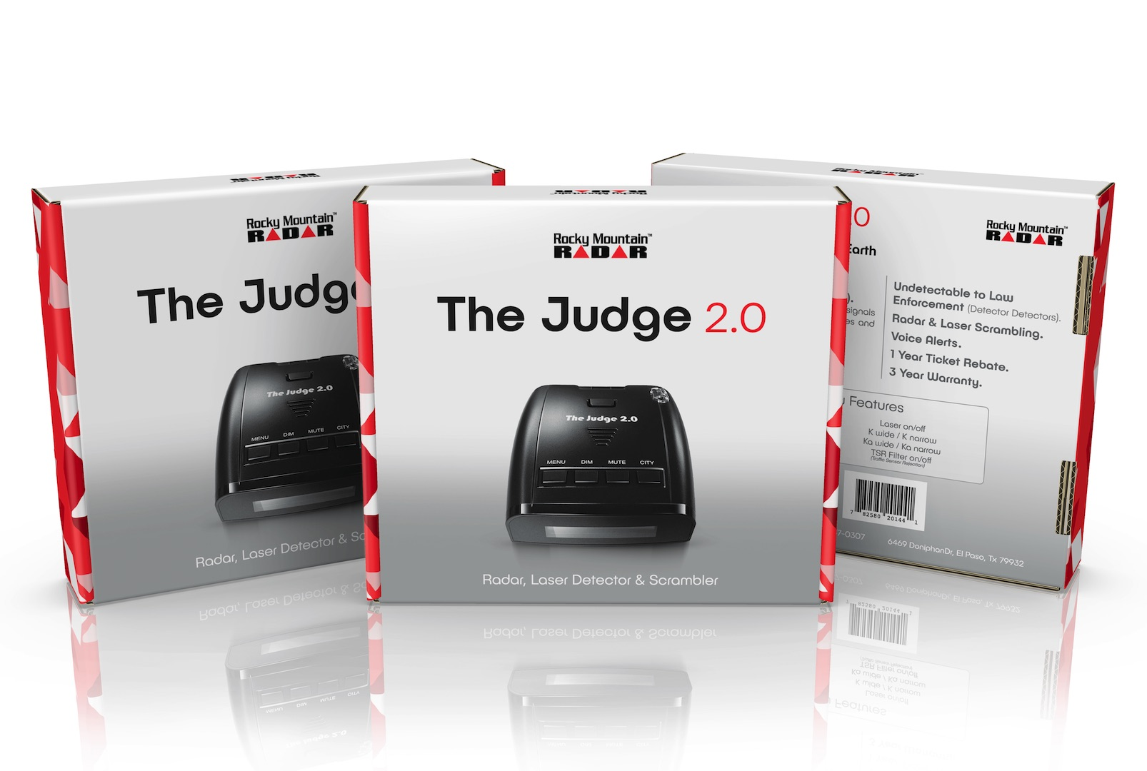 The Judge 2 0 Laser/Radar Detector & Scrambler